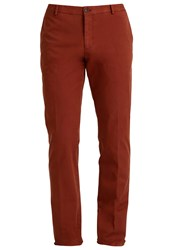 Tommy Hilfiger Tailored Chinos Orange Bordeaux