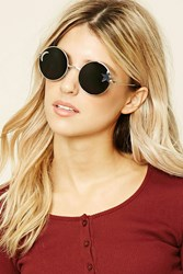 Forever 21 Star Cutout Round Sunglasses