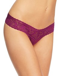 Hanky Panky Petite Low Rise Thong 4911 Fine Wine
