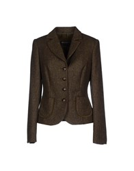 Schneiders Suits And Jackets Blazers Women Military Green