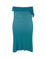 Fairly Short Dresses Turquoise