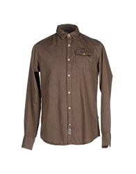 Napapijri Shirts Shirts Men Military Green