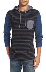 Rvca Men's 'Set Up' Lightweight Jersey Hoodie