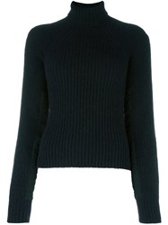 Haider Ackermann Roll Neck Jumper Black