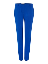 Mary Portas The Mia Statement Pu Trim Trouser Cobalt