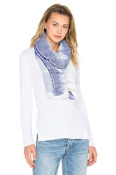Rag And Bone Ombre Scarf Blue