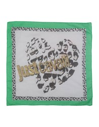 Just Cavalli Square Scarves Green