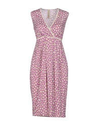 Coast Weber And Ahaus Knee Length Dresses Mauve