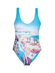 Orlebar Brown Almada Nice Print Swimsuit