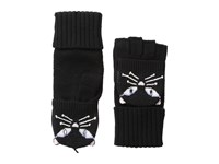 Kate Spade Cat Pop Top Mitten Black Extreme Cold Weather Gloves