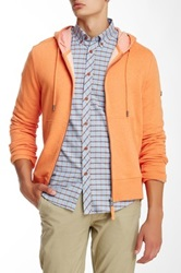 Ben Sherman Zip Front Hoodie Orange