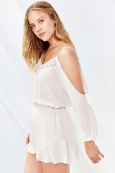 Ecote Floaty Romper Cream