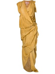 Vivienne Westwood Gold Label 'River' Dress Yellow And Orange
