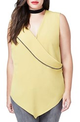 Rachel Roy Plus Size Women's Envelope Back Top
