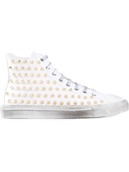 Gienchi Studded Hi Top Sneakers
