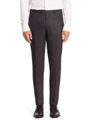 Pal Zileri Western Front Virgin Wool And Cashmere Pants Grey
