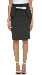 Opening Ceremony Rory Elastic Pencil Skirt Black