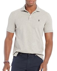 Polo Ralph Lauren Stretch Mesh Classic Fit Shirt Andover Heather