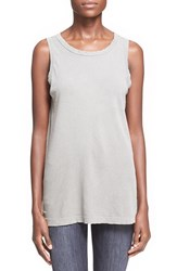 Women's Current Elliott 'The Muscle Tee' Sleeveless Top Titanium Satellite
