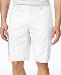 Tommy Hilfiger Men's Classic Cargo Shorts White