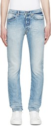 Valentino Light Blue Washed Jeans