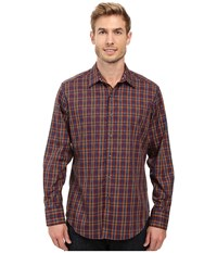 Robert Graham Lando Long Sleeve Woven Shirt Purple Men's Long Sleeve Button Up