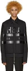 Hood By Air Black Poplin Cut Out Shirt