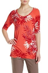 Tommy Bahama Palms Ashade Tee Red