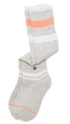 Stance Frazzled Pipebomb Socks Coral