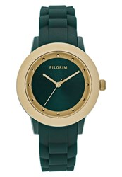 Pilgrim Watch Goldcoloured Green