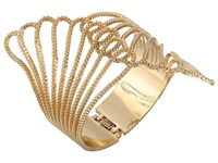 Guess Fan Hinge Cuff Gold Bracelet