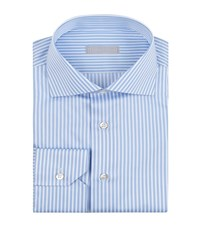 Stefano Ricci 3D Stripe Shirt Male Blue