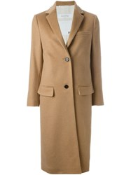 Valentino Tailored Coat Nude And Neutrals