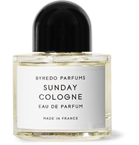 Byredo Sunday Cologne Eau De Parfum Vetiver Bergamot 50Ml White