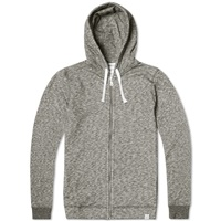Norse Projects Vagn Zip Hoody Charcoal Melange