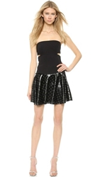 Jay Ahr Studded Strapless Dress Black Black