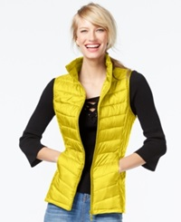 Inc International Concepts Packable Puffer Vest Only At Macy's Canary Song