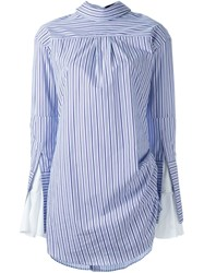Jacquemus Striped Dress Pink And Purple