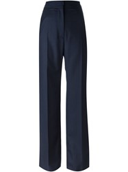 Marni Striped Trousers Blue