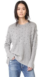 One Teaspoon Snow Valley Sweater Grey Marle
