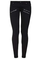 Cheap Monday Slim Fit Jeans Disguise Black Black Denim