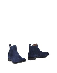 Shoe The Bear Ankle Boots Dark Blue