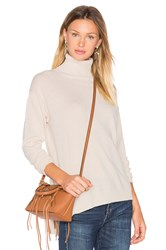 525 America Side Slit Sweater Beige