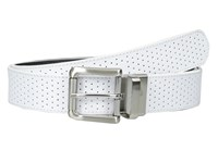 Nike Wide Perforated Reversible White Black Women's Belts
