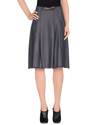 Erika Cavallini Semi Couture Erika Cavallini Semicouture Skirts 3 4 Length Skirts Women Dark Blue