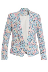 Paul And Joe Printed Tuxedo Blazer