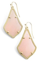 Women's Kendra Scott 'Alex' Drop Earrings Gold Rose Quartz
