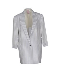People Suits And Jackets Blazers Women White