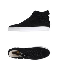 Forfex High Top Sneakers Black