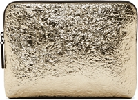 3.1 Phillip Lim Silver Foil Minute Cosmetic Pouch